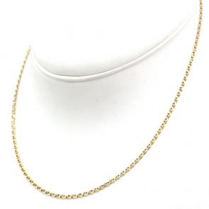 Collana catena uomo maglia marinara oro - 45 cm; 5.75 gr