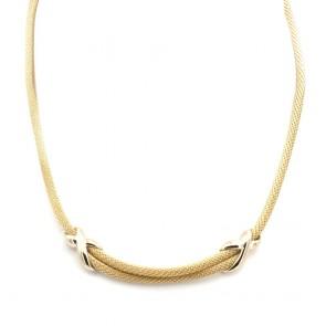Collana coda di topo oro