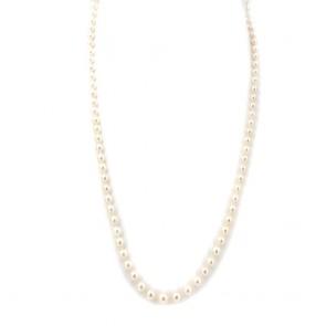 Collana da 62 cm di perle giapponesi
