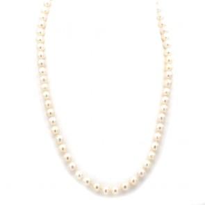Collana da 57 cm di perle giapponesi - 8.5-9 mm-