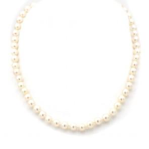 Collana da 40 cm di perle giapponesi -