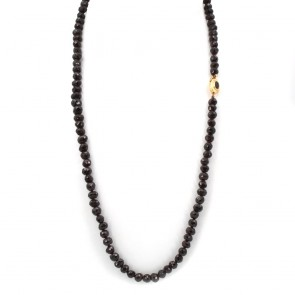 Collana antica, in stile, granato e oro
