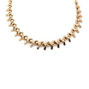 Collana collier in stile oro, vintage