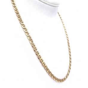 Collana catena uomo oro, maglia marinara - 60 cm; 50.35 gr
