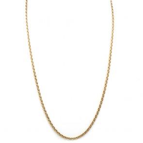 Collana catena uomo oro, maglia marinara
