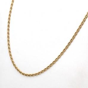 Collana catena uomo oro, maglia marinara - 58 cm; 6.32 gr