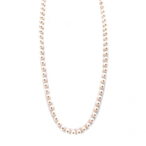 Collana da 62 cm di perle giapponesi -