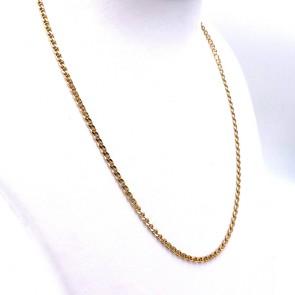 Collana catena uomo oro, maglia marinara - 50 cm; 11.62 gr