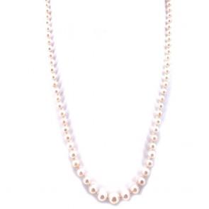 Collana da 51 cm di perle giapponesi -