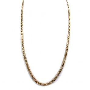 Collana catena unisex oro, maglia