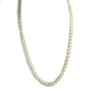 Collana lunga di perle giapponesi