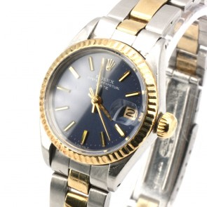 Orologio Rolex Oyster Perpetual  Date acciaio e oro - 25 mm