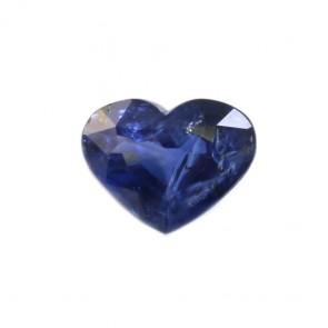 Zaffiro a cuore blu sfuso, 1.92 ct