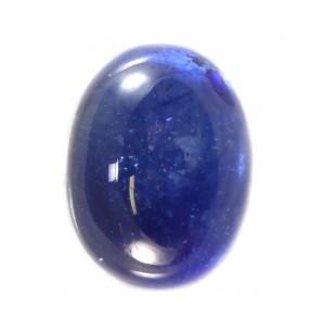 Zaffiro blu, taglio ovale cabochon, sfuso -4.27 ct