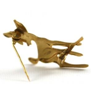 Spilla Bambi  oro - 3,37 gr; 3,3 cm