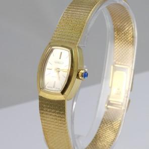 Orologio d'oro Aureole meccanico Incabloc -18 cm; 41.14 gr