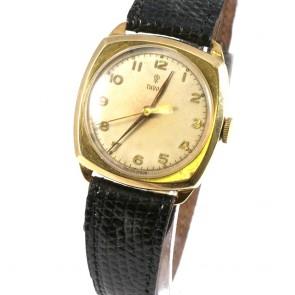 Orologio d'oro antico Tudor meccanico del 1926. Da collezione -21 cm; 21.3 gr