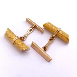 Gemelli conici UNOAERRE in oro; 10.94 gr.