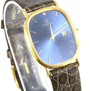 Orologio Eterna d'oro, al quarzo -23 cm x 2,9 cm